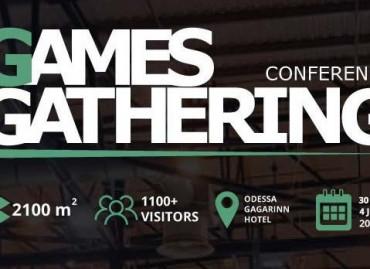 Летняя конференция Games Gathering в Одессе: программа ивента
