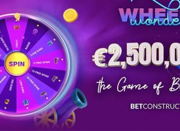 BetConstruct запускает специальное промопредложение Wonder Wheel